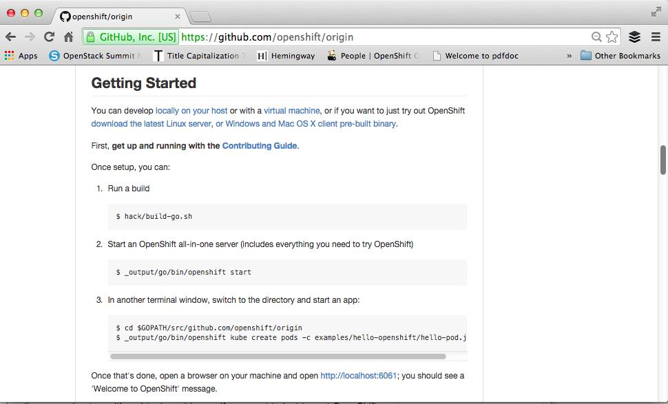 OpenShift on OpenStack